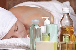 massaggio aromatico oli essenziali